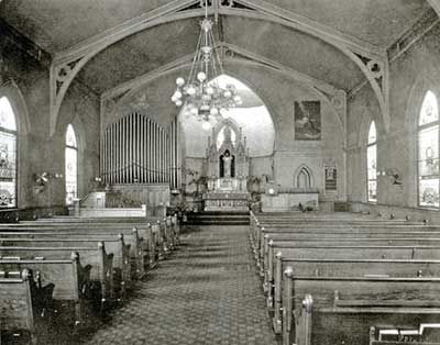 Trinity Interior prior to 1930