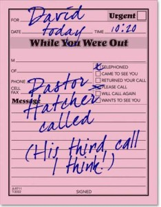 pastor-called