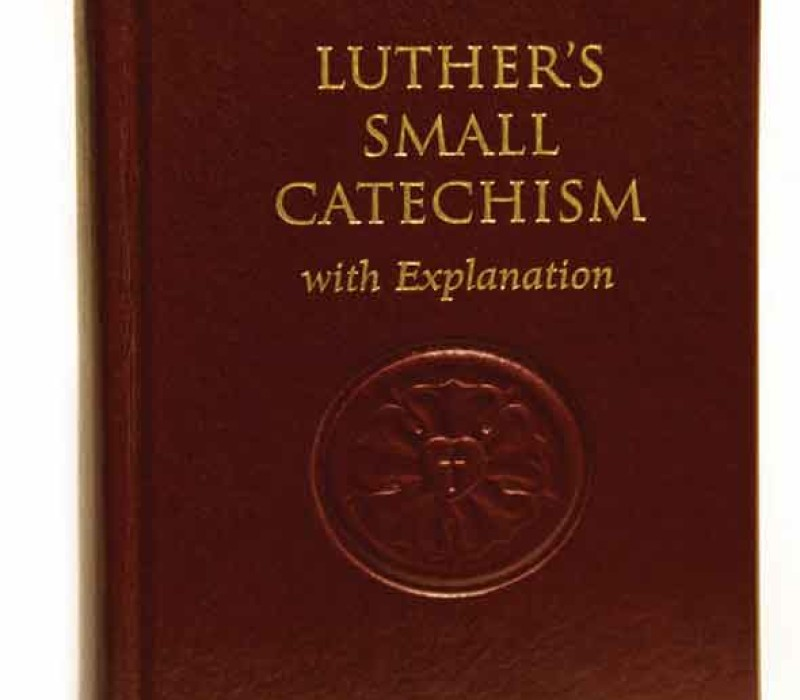 Your Help Needed Revising Luther's Small Catechism