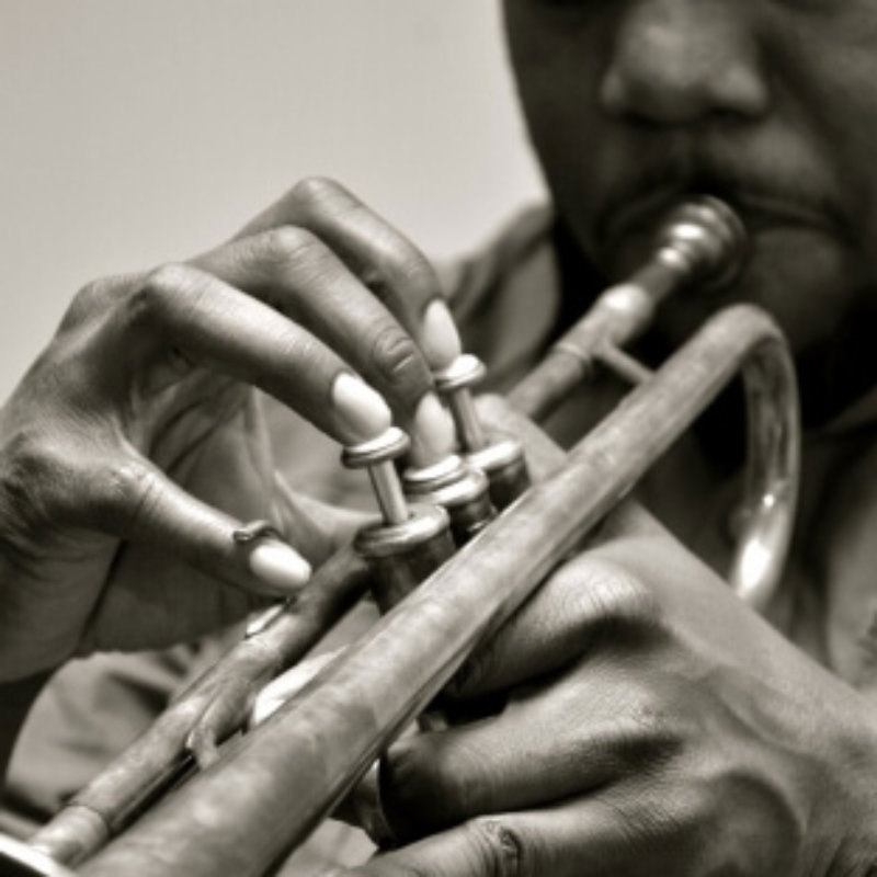 The Hand that Holds the Trumpet