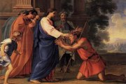 Jesus heals the blind man