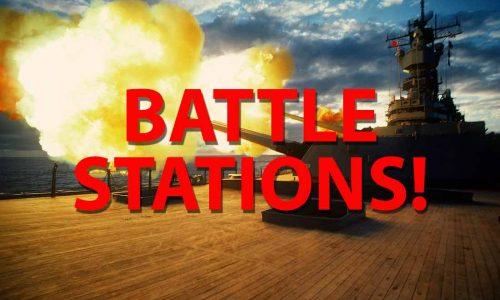 Battle Stations! 8/27/2017