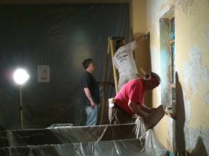 plaster crew