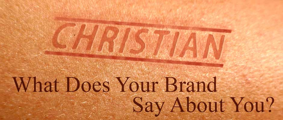 Skin with word Christian branded on it