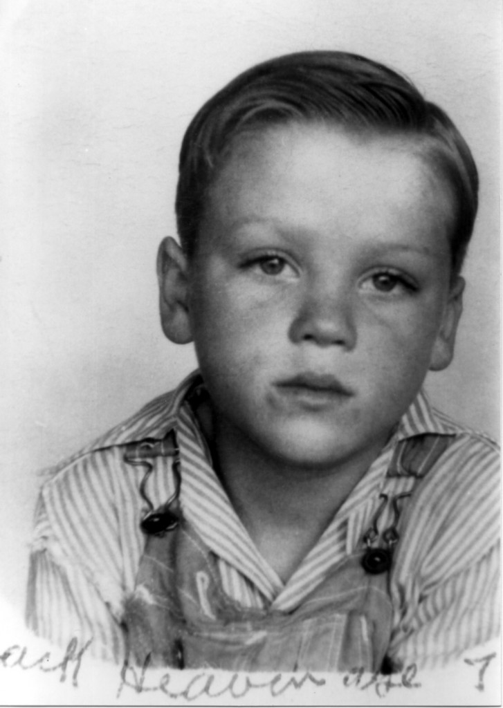 David's Uncle Jack as a young boy
