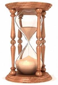 tabletop hourglass