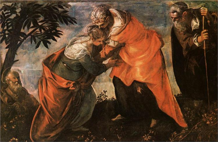 The Visitation by Tintoretto, 1588