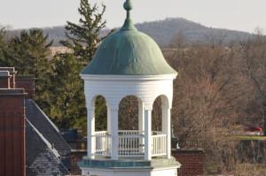 the cupola atop Schmucker Hall